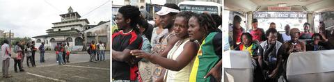 En direct de Douala : Maksaens (Maxence Denis) témoigne