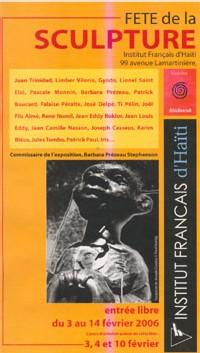 Invitation Fête de la Sculpture 2006