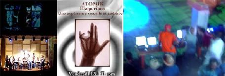 La soirée Atomik Esperyans à l'IFH - Forum 2004