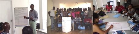 Atelier du 9 juin, au Centre AfricAméricA