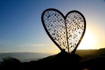 Coeur 'bling bling' de Prezeau, à Fonds Parisien