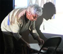 Jean Morisset, à Noailles le 2 avril 2015