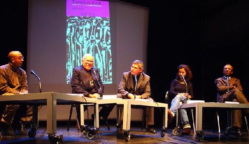 Maxence, Frankétienne, Yves Chemla, Anne Lescot et Laënnec Hurbon