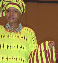 Défilé de mode de la styliste Winnie Chafa Govha