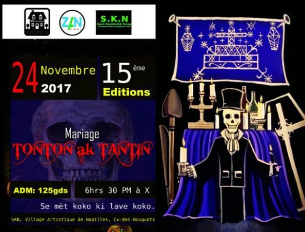 Mariage TONTON AK TANTIN - 24 novembre 2017, à partir de 6h30 pm - Noailles, Croix-des-Bouquets - Atelier Jean Eddy Rémy