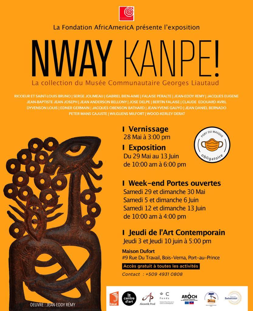 NWAY KANPE ! - Exposition, 29 mai - 13 juin 2021 à la Maison Dufort