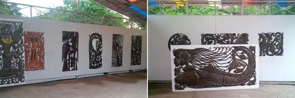 Retrospective Serge Jolimeau, au Musée Georges Liautaud (Octobre 2013)