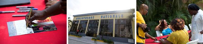 Quinzaine de la Francophonie - AfricAméricA à la Bibliothèque Nationale, le 11 mars 2014