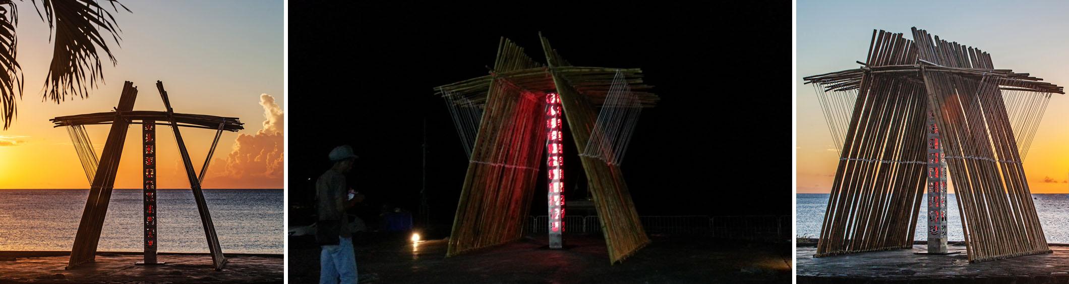 Le CESAIRIUM, œuvre de Jack Beng-Thi en hommage à Aimé Césaire