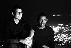 David Frothnapfel et Josué Azor