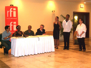 Le panel des invités d'honneur