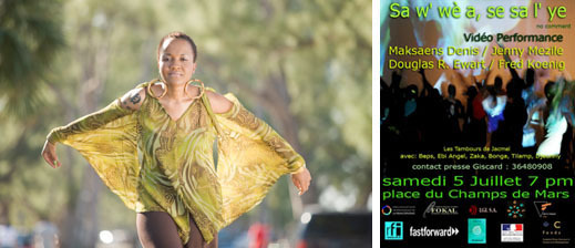 Vendredi 4 juillet : KARIBE - Samedi 5, dimanche 6 juillet : CHAMPS DE MARS