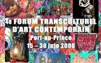 Le 4ème Forum Transculturel d'Art Contemporain