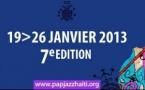 Festival International de JAZZ de Port-au-Prince, 19 - 26 janvier 2013